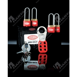 Lockwood 312 Safety Lockout Kit with Contractor Padlocks & Lockout Accessories