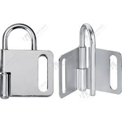 Master Lock Heavy Duty Steel Hasp Lockout with 25mm Shackle Clearance