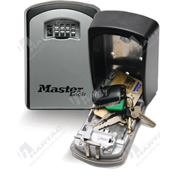 Master Lock 5403D Select Access Maxi Wall Mount Key Safe 4 Digit Combination