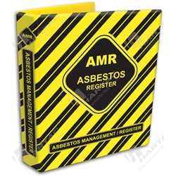 Asbestos Management Register (AMR) Binder