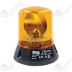 Britax Flange Base 3 Bolt Amber Beacon