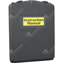 Sealed Front Opening A5 MSDS Document Holder - Black