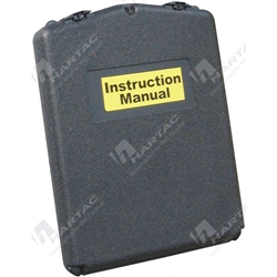 Sealed Front Opening A4 MSDS Document Holder - Black