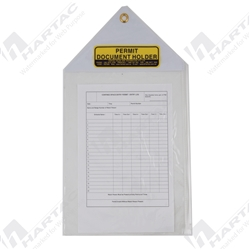 Hartac Permit Document Holder - A4 Size