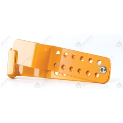 Captive Lockout Hasp - 12 Hole (Suits Master Lock 410/406/S31 Series Padlocks)
