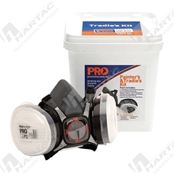 ProChoice Tradie's and Painter's Kit Half Mask Respirator (Maxi Mask 2000) - Bucket