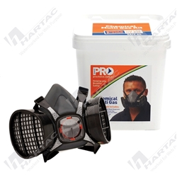ProChoice Chemical Kit Half Mask Respirator (Maxi Mask 2000) - Bucket