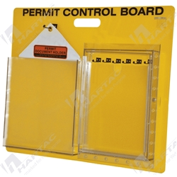 Permit Control Board with Document Holder