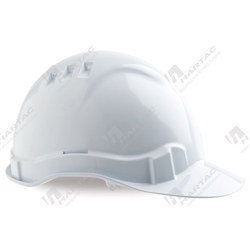 ProChoice V6 Vented Hard Hat with PinLock Harness - White