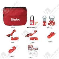 Master Lock Personal Pouch Lockout Kit (Technician)