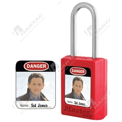 Master Lock Photo ID Labels (Suits 410, S31 & 406 Padlocks)