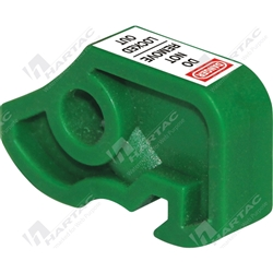 Miniature Circuit Breaker Lockout - Green