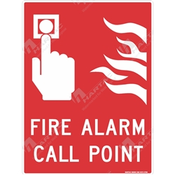 "Fire & Safety Sign ""Fire Alarm Call Point"""