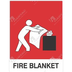 "Fire & Safety Sign ""Fire Blanket"""