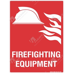 "Fire & Safety Sign ""Fire Fighting Equipment"""
