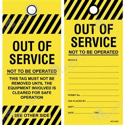 """Out of Service"" Tag"