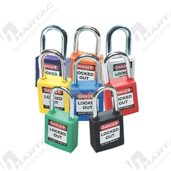 Brady Safety Plus™ Padlock with 38mm Shackle Clearance Keyed Different