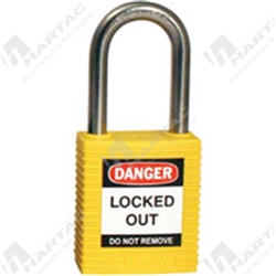 Brady Stainless Steel Safety Padlock Keyed Different