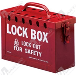 Brady Group Lock Box Metal Portable