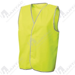 Frontier Hi Vis Yellow Day Only Safety Vest