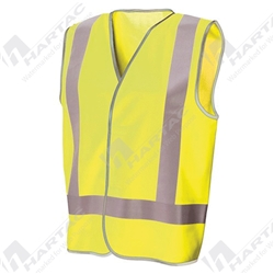Frontier Hi Vis Yellow Day/Night Safety Vest