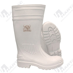 Frontier Inyati White Gumboot (Non Safety Toe)