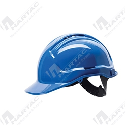 Frontier Tuffgard 6 Points Unvented Hard Hat with Web Suspension