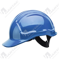 Frontier Tuffgard 6 Points Unvented Hard Hat with Poly Cradle Suspension