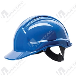 Frontier Tuffgard 6 Points Vented Hard Hat with Poly Cradle Suspension
