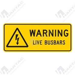 "Warning Sign ""Live Busbars"""