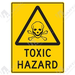 "Warning Sign ""Toxic Hazard"""