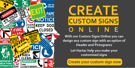 Hartac safety signs safety solutions perth wa hartac for Build a custom home online