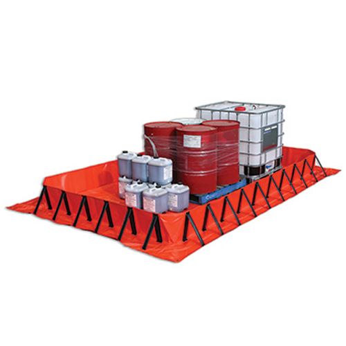 Collapsible Drum Bunds/Spill  Mats
