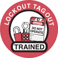 Lockout Tagout Signs and  Labels