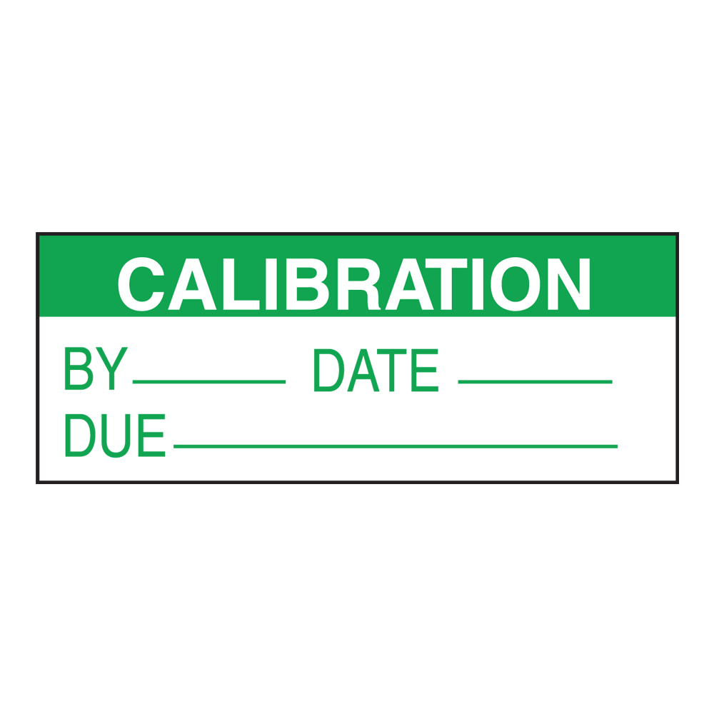 Calibration & Inventory Labels