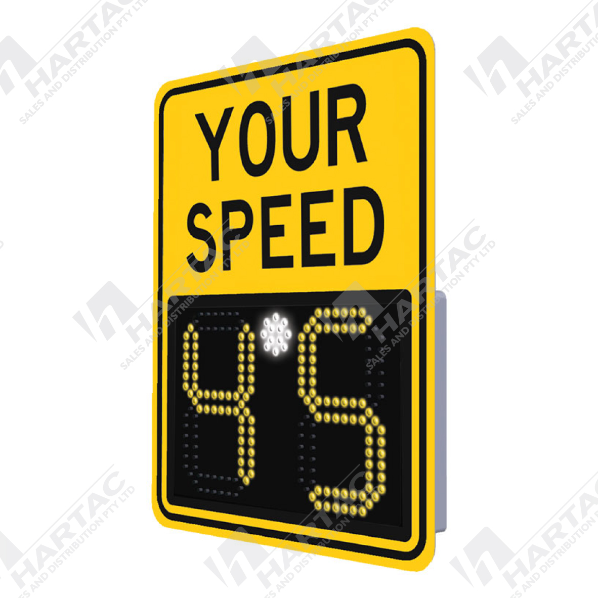 Digital Radar Speed Sign