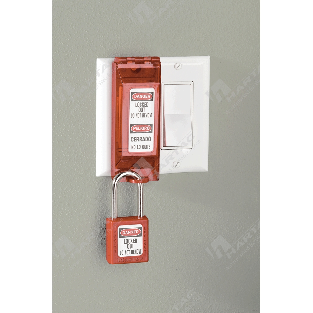Electrical Lockouts Hartac Australia General Switch Breaker Box Fuses Master Lock Universal Wall Lockout