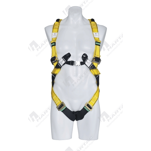 MSA Workman® Premier Harness Full Body Qwik-Fit - Size S