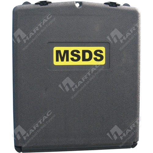 MSDS Document Holder Sealed
