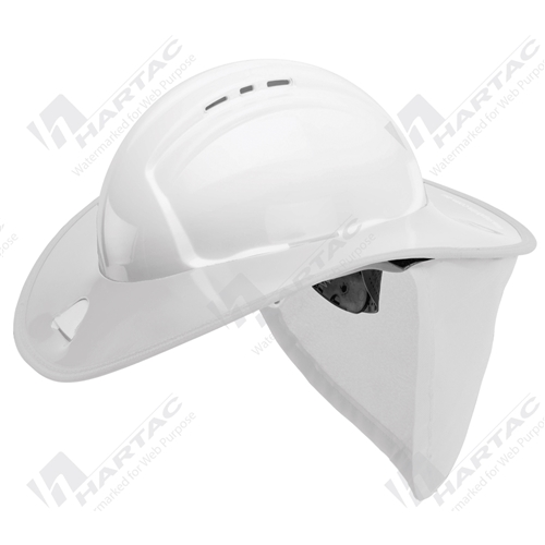 01ff15927ba HSSBSTDWHT - Frontier Snap Brim White with Green Neck Flap For ...