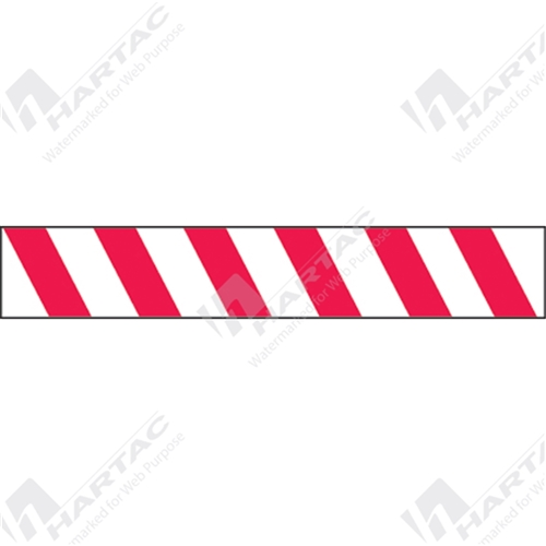 hwt 002 striped barricade tape 75mm x 100m red white stripe