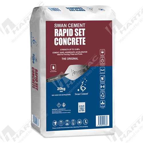 Swan Cement Rapid Set Concrete - 20kg
