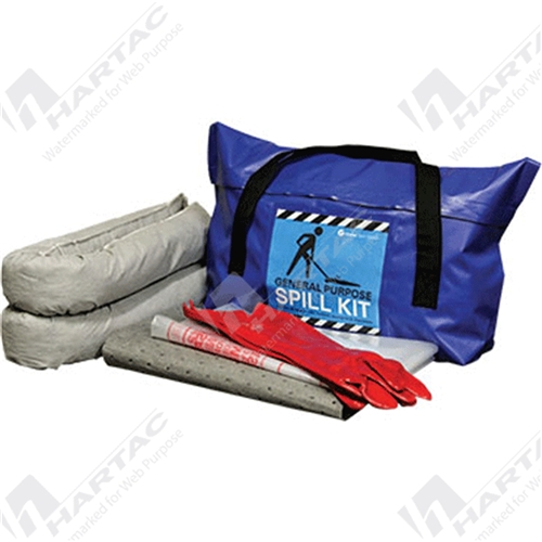 General Purpose Mini Spill Kit - Weatherproof Carry Bag