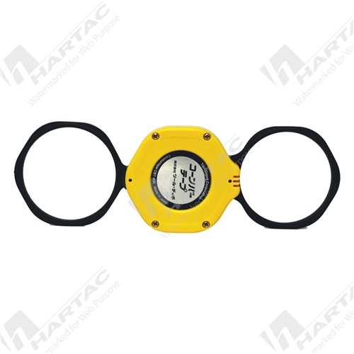 Traffic Cone Retractable Tape (Extendable to 4m) - Black/Yellow