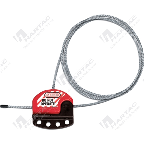 Cable Lockouts Master Lock Adjustable Cable Lockout
