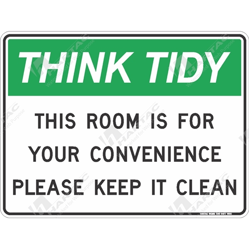 House Keeping Signs - General Safety Sign House Keeping ...