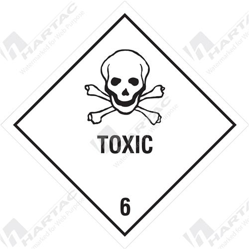 Hazardous Goods Labels Amp Placards Hazchem Sign Hgl