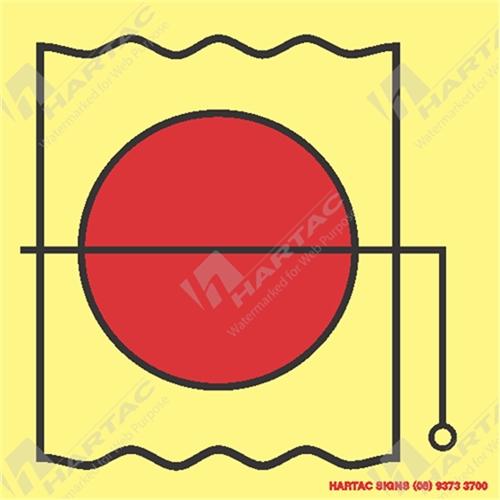 Imo Fire Control Symbols Marine Sign Fire Control Fire Damper In