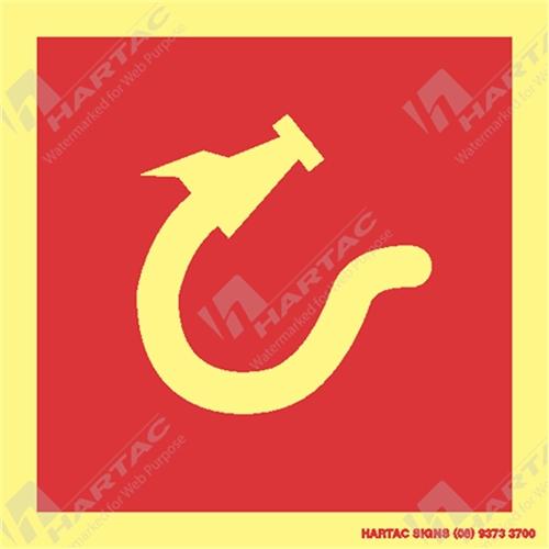 Imo Fire Control Symbols Marine Sign Fire Control Hose Box W