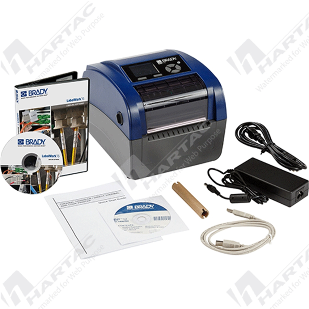 877145 - Brady BBP®12 Label Printer with LabelMark® 6 Software ...